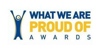 What we are proud of logo